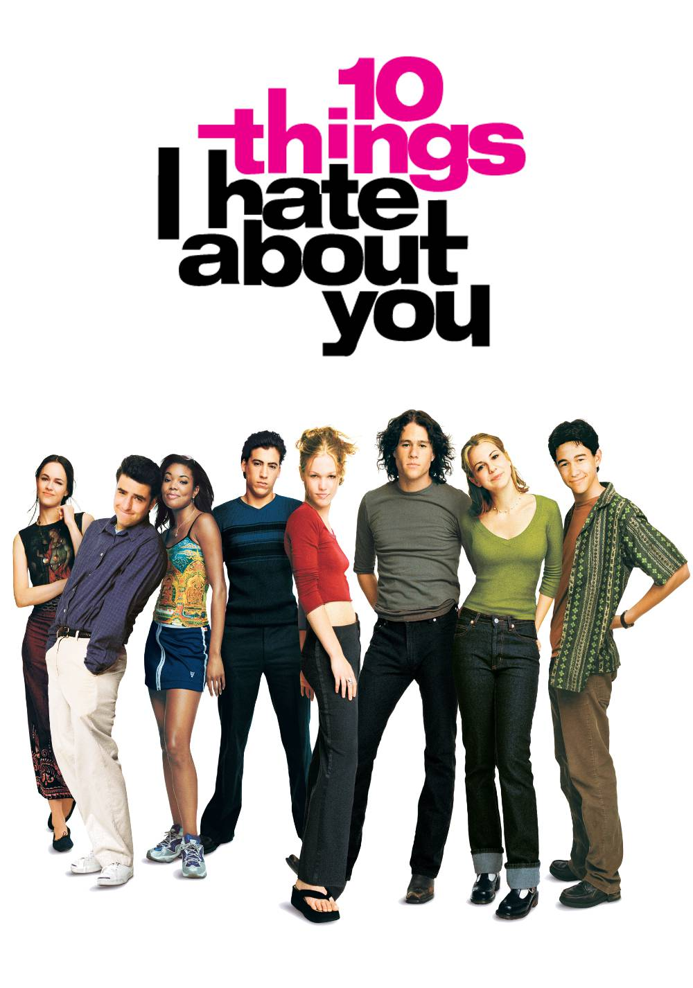 0 cose che odio di Te - 10 Things I hate about You - Kat Stratford (Julia Stiles) - Patrick Verona (Heath Ledger)