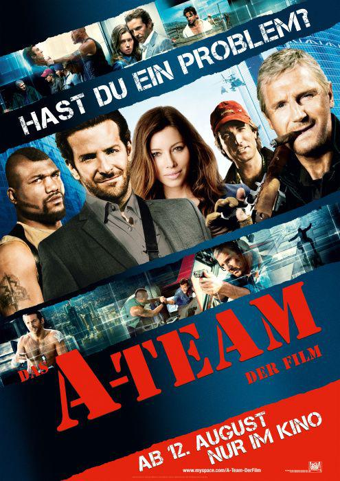 A Team film - ATEAM - A-Team remake - poster - There is no Plan B
