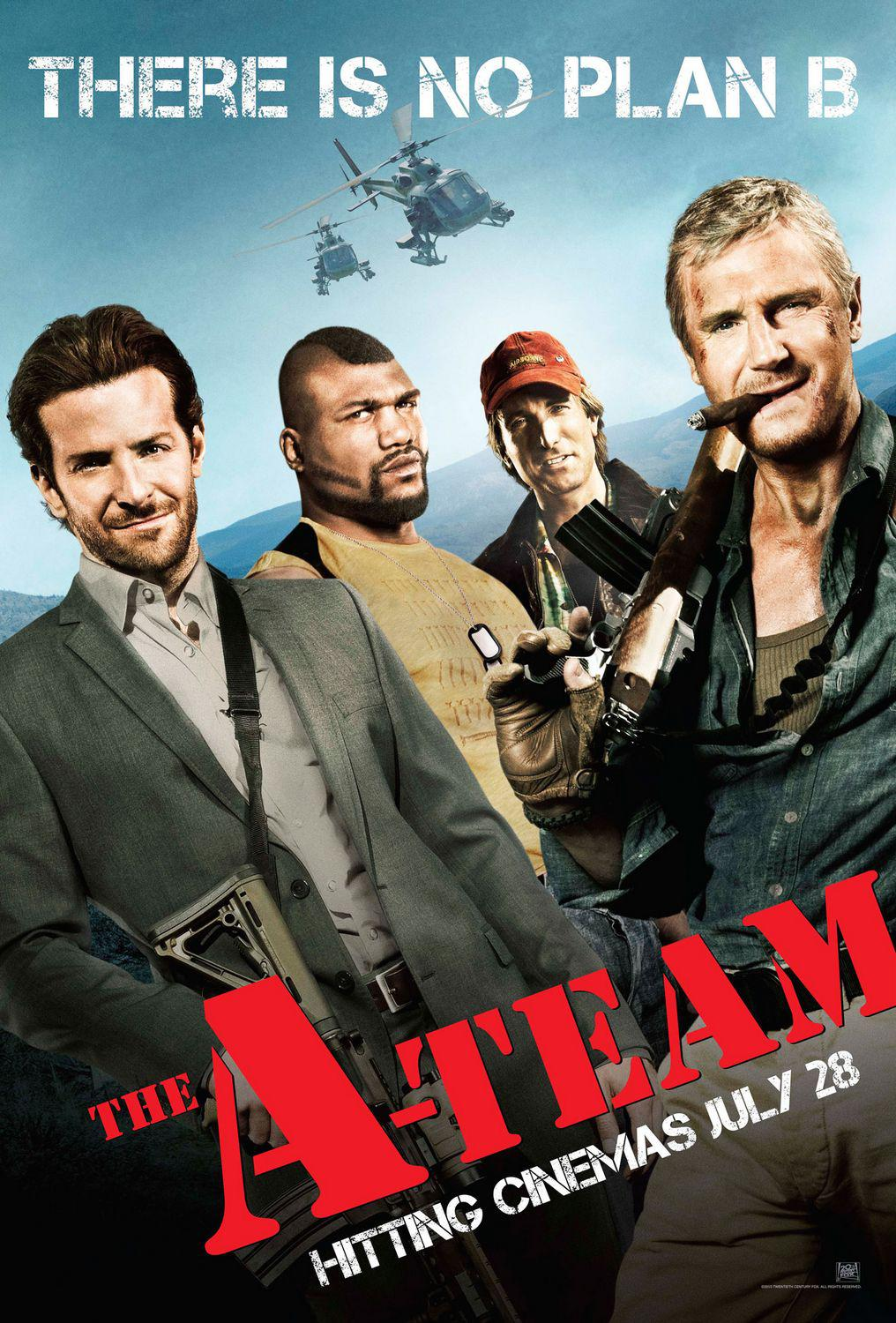 A Team film - ATEAM - A-Team remake - poster