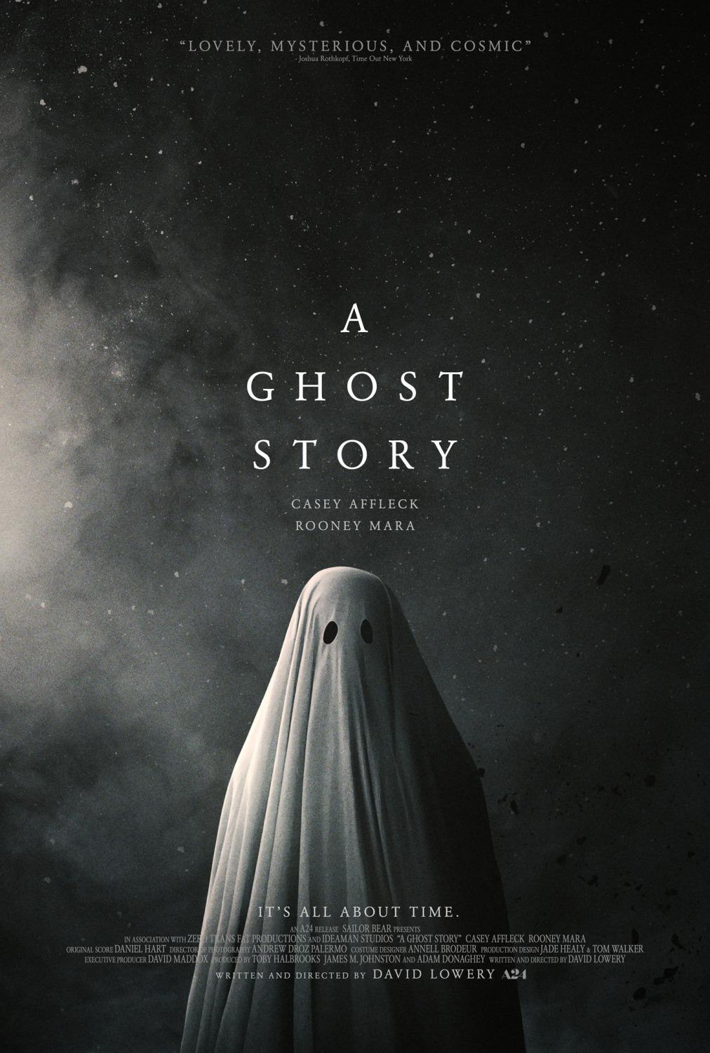 A ghost Story - all about time - Lovely, Mysterious and Cosmic Story