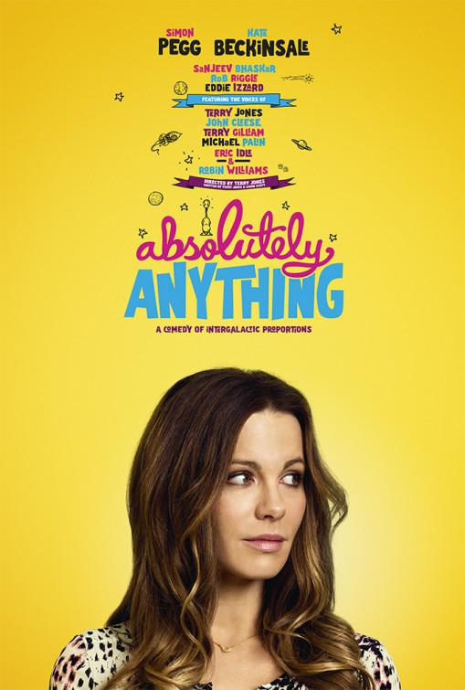 Absolutely Anything - un occasione da Dio - Absolutamente Todo - Kate Beckinsale - poster