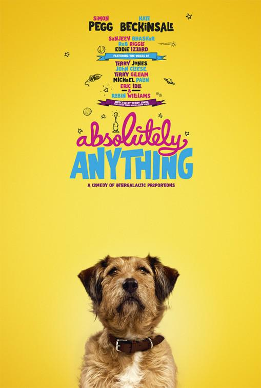 Absolutely Anything - un occasione da Dio - Absolutamente Todo - dog poster