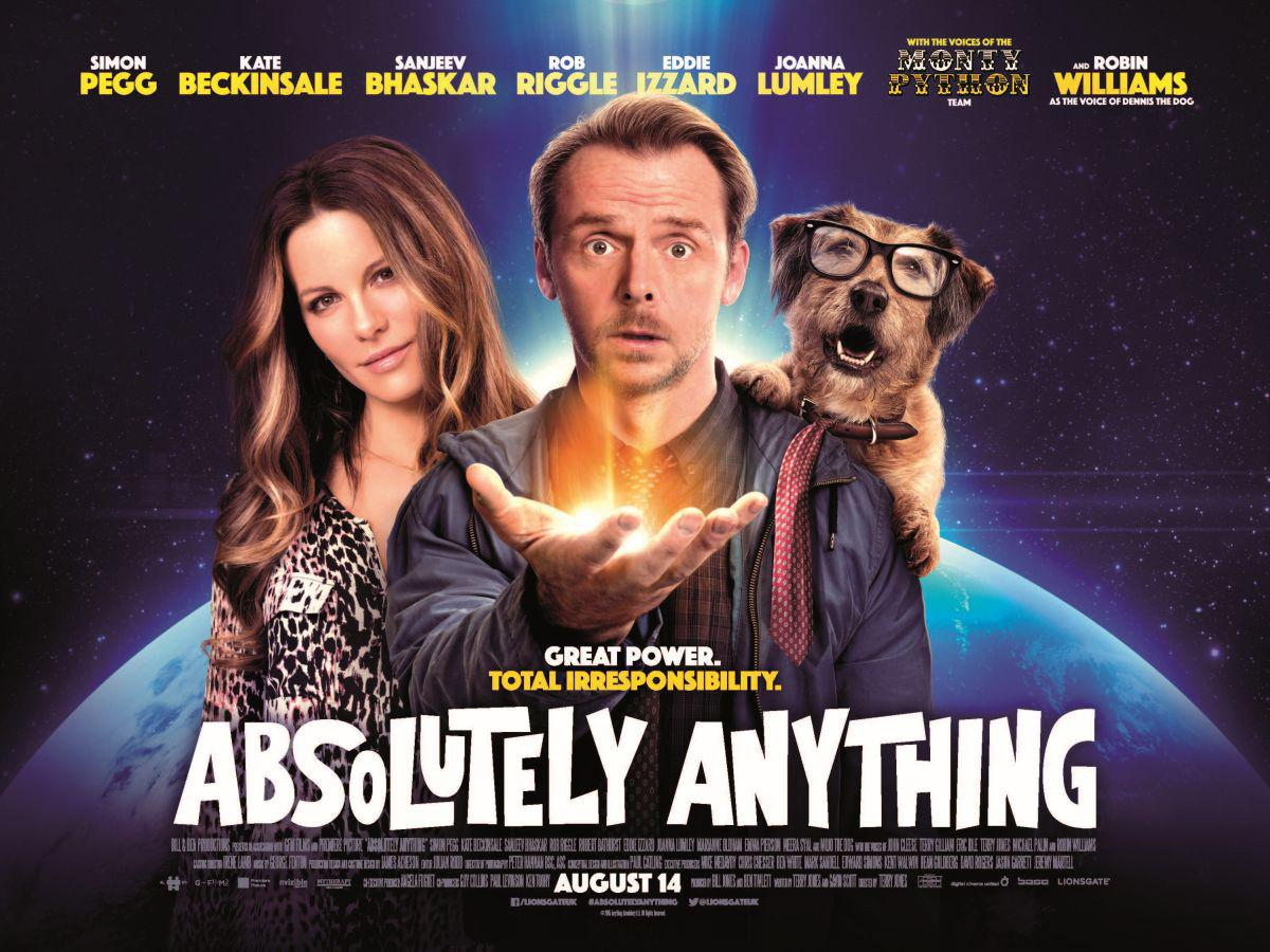 Absolutely Anything - un occasione da Dio - Simon Pegg - Kate Beckinsale