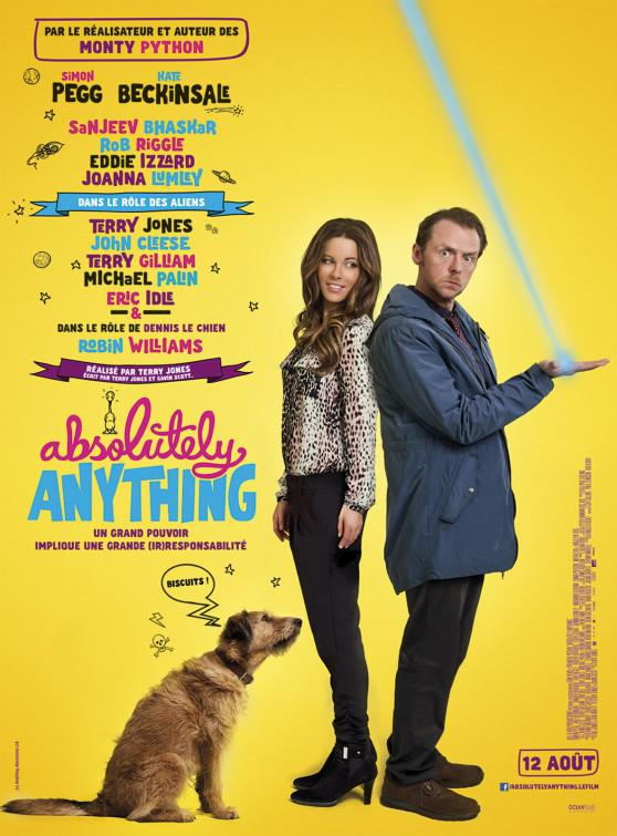Absolutely Anything - un occasione da Dio