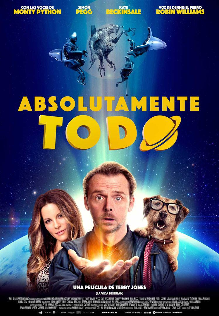 Absolutely Anything - un occasione da Dio - Absolutamente Todo - Simon Pegg - Kate Beckinsale - poster
