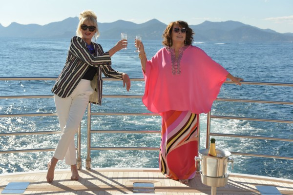 Absolutely Fabulous - commedy - Edina Eddy Monsoon (Jennifer Saunders) - Patsy Stone (Joanna Lumley)