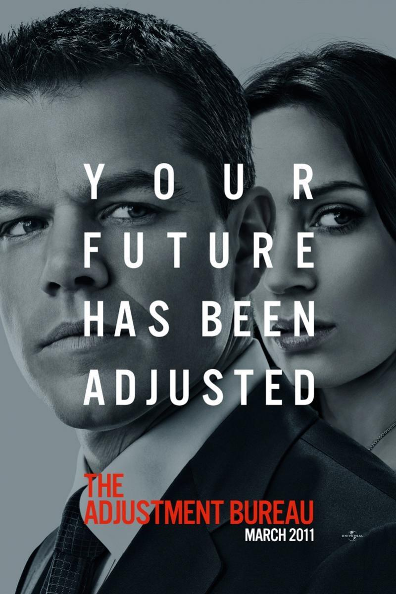 Adjustment Bureau ... your future has been adjusted - Matt Damon - Emily Blunt