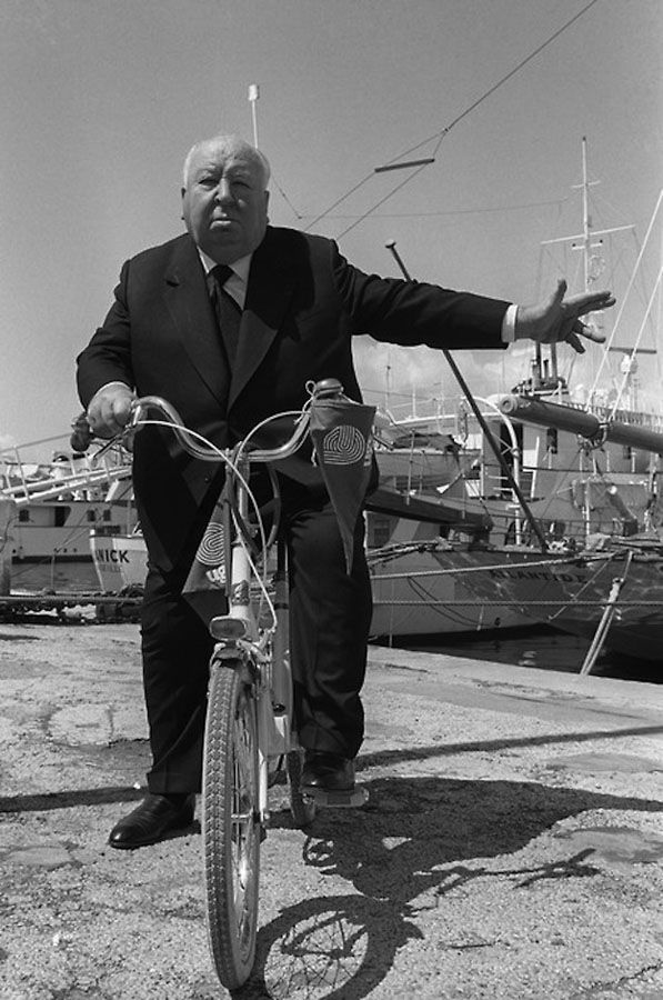 Alfred Hitchcock - bicicletta - bicycle