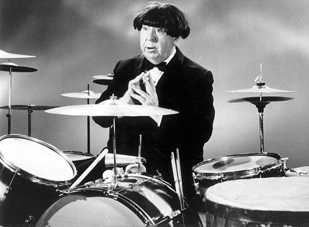 Alfred Hitchcock - hair drum
