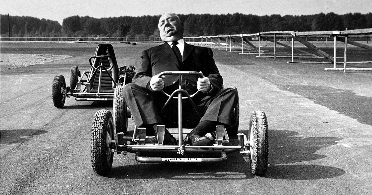 Alfred Hitchcock - car race