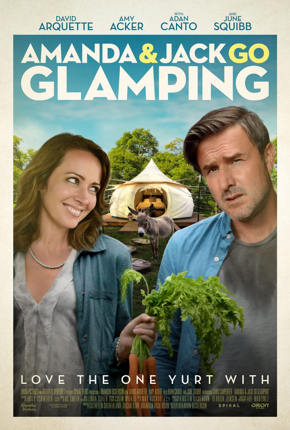 Amanda and Jack go Glamping - Couples Vacation