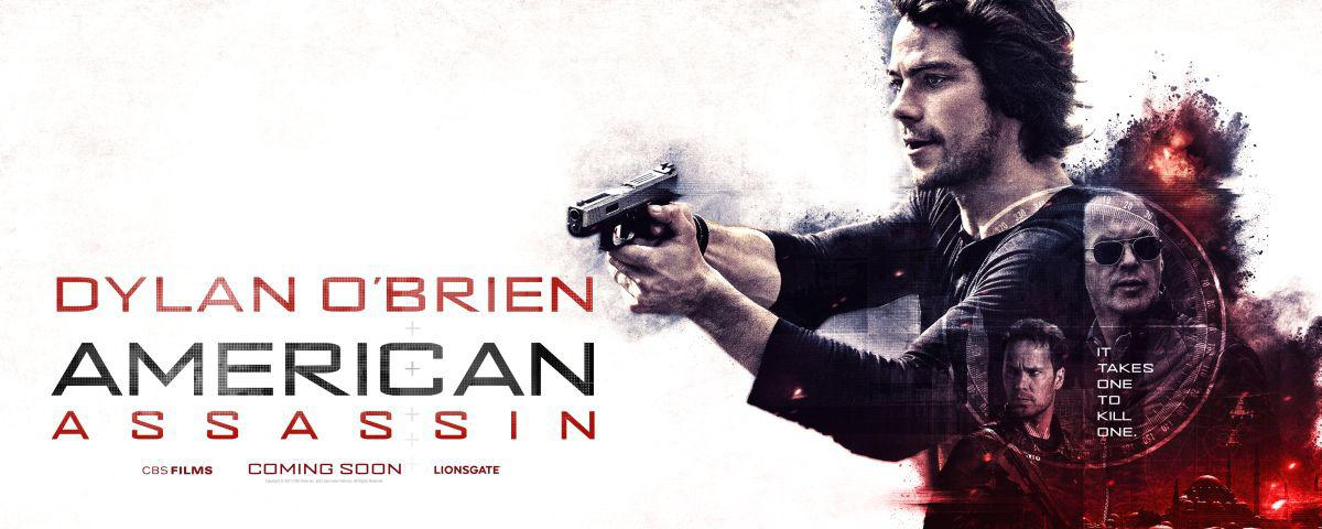American Assassin - film poster 2017 - Dylan O'Brien