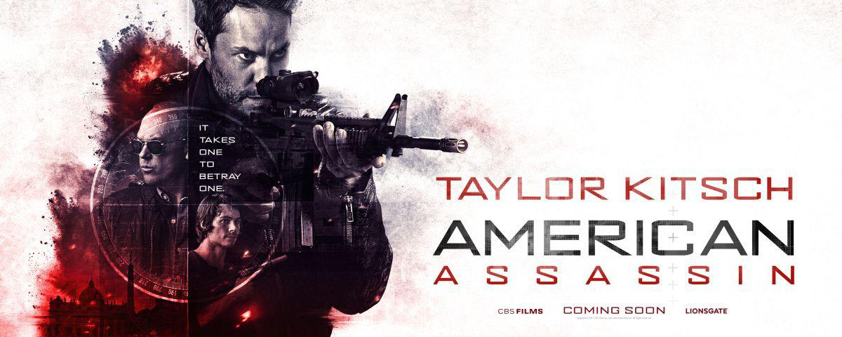 American Assassin - film poster 2017 - Taylor Kitsch