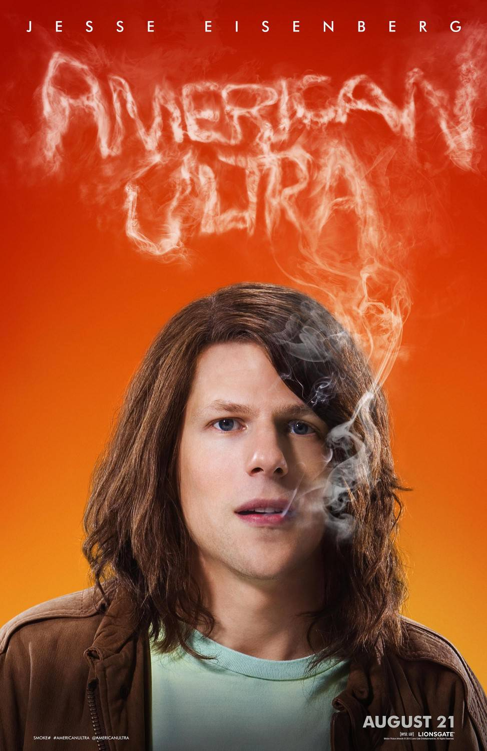 American ultra action movie