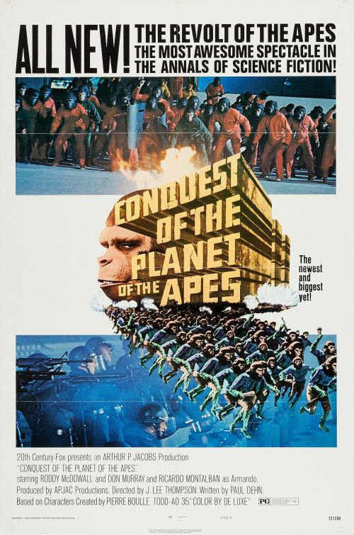 Apes 4 - Pianeta delle Scimmie 1999 Conquista della Terra - Planet of the Apes Conquest of the Planet (Classic 1972)