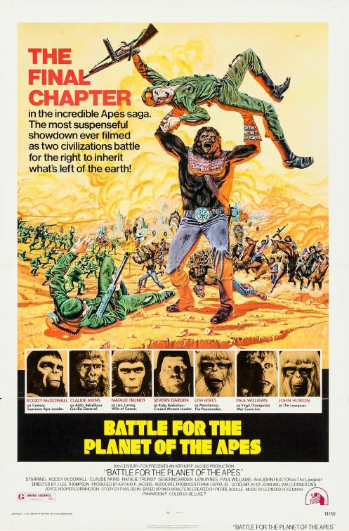 Apes 5 - Pianeta delle Scimmie Anno 2670 ultimo atto - Battle for the Planet of the Apes (Classic 1973)