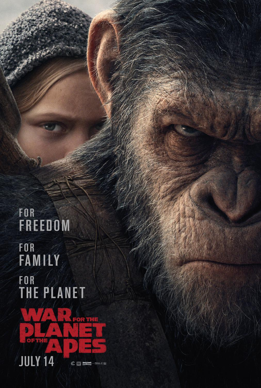 Apes 9 - The War - Il Pianeta delle Scimmie - War for the planet of the Apes (2017)