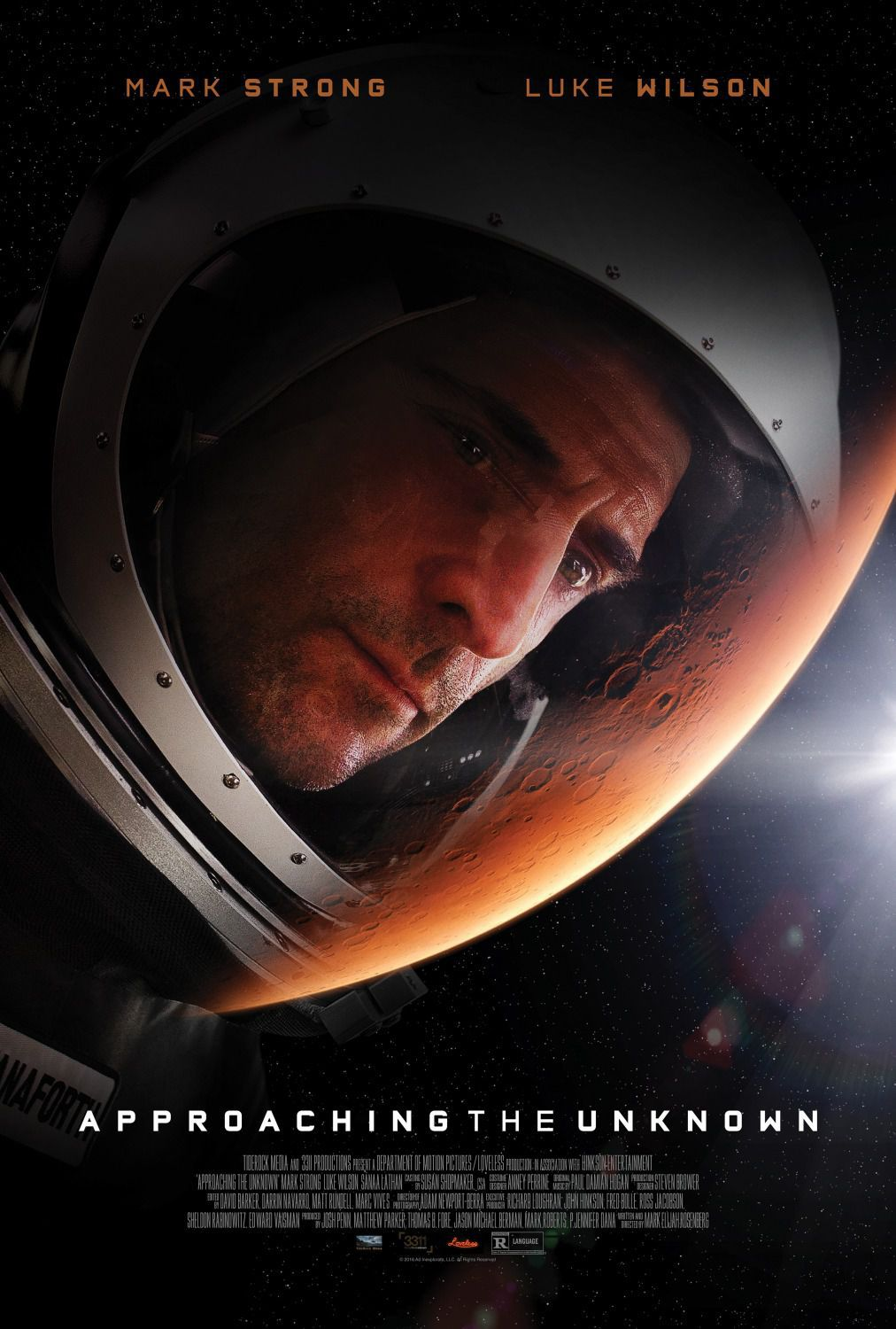 Approaching the unknown - Captain William Stanaforth (mark Strong)