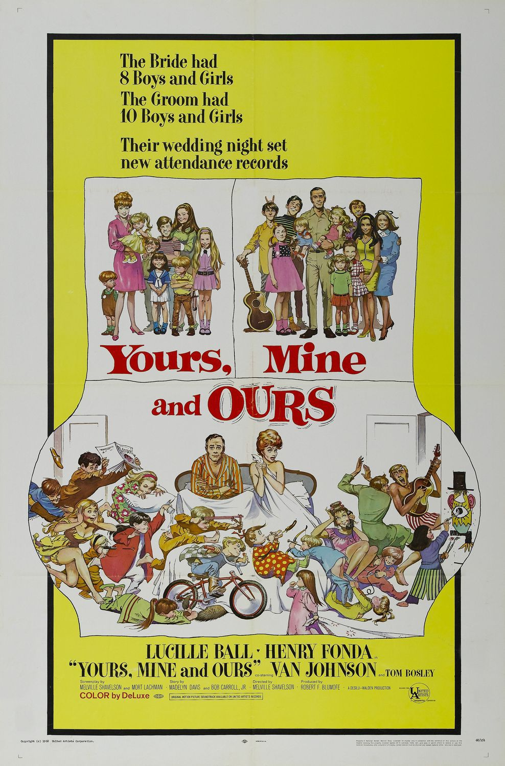 Appuntamento sotto il letto - Yours mine and ours 1968