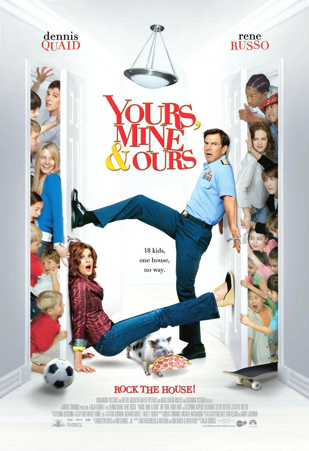 Appuntamento sotto il letto - Yours mine and ours remake di un classico del 1968 - A Classic Big Family Commedy ...