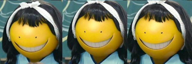 Assassination Classroom live action - Koro Sensei faces