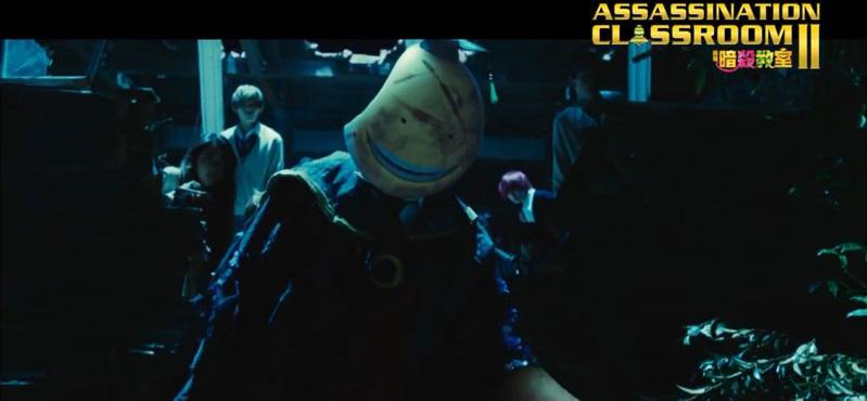 Assassination Classroom 2 - Graduation - live action - Koro sensei battle