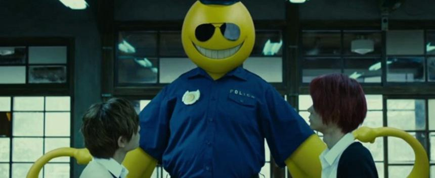 Assassination Classroom 2 - Graduation - live action - Koro sensei policeman