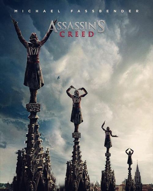 Assassins creed - film poster - action movie