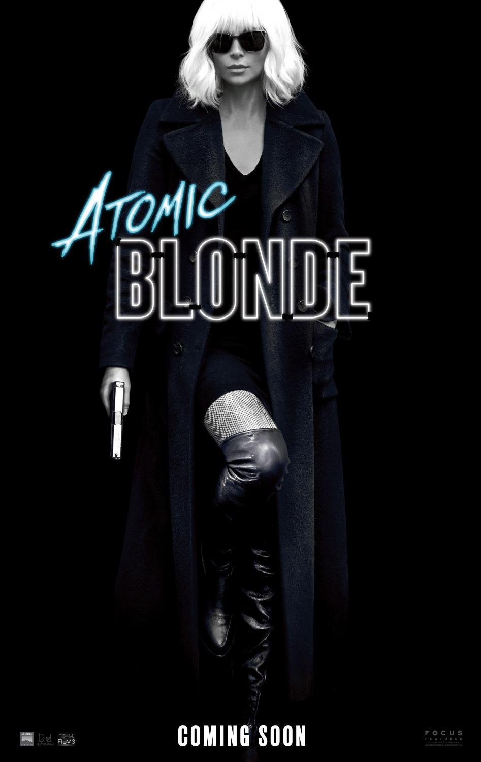 Atomic Blonde - Spy Story Film - Charlize Theron - poster
