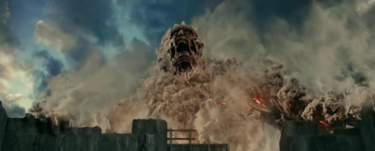 Attacco dei Giganti 1 - Shingeki no kyojin - Attack on Titan live action - titan