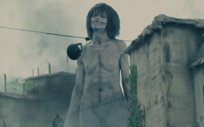 Attacco dei Giganti 1 - Shingeki no kyojin - Attack on Titan live action - giant Eren