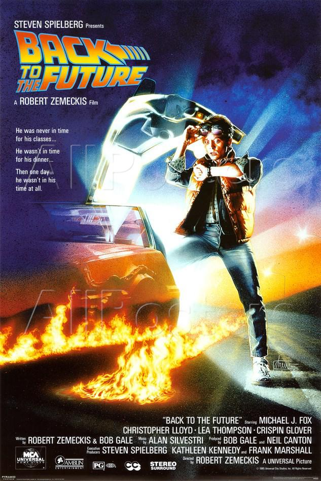Ritorno al Futuro 1 - Back to the Future - poster