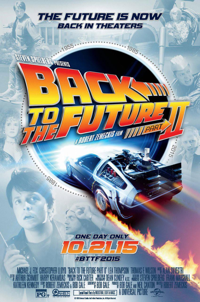 Ritorno al Futuro 2 - Back to the Future II - poster