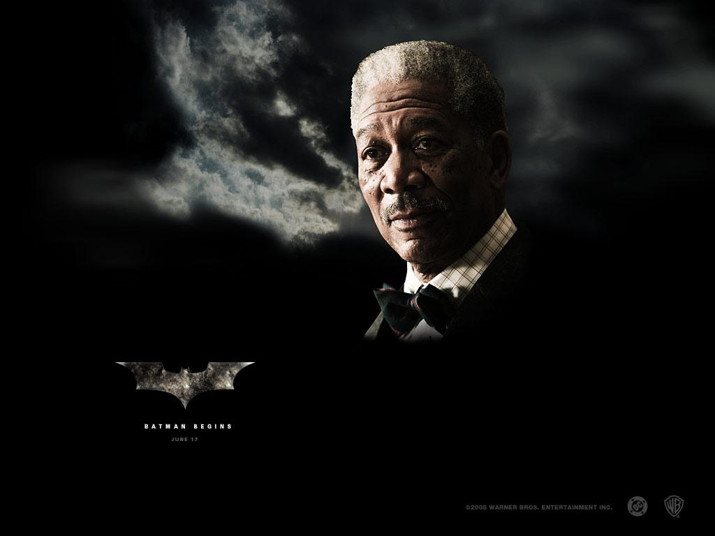 Morgan Freeman (Lucius Fox)