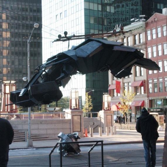 Batman The Dark Knight Rises - elicopter