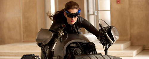 Batman The Dark Knight Rises - Batgirl and moto