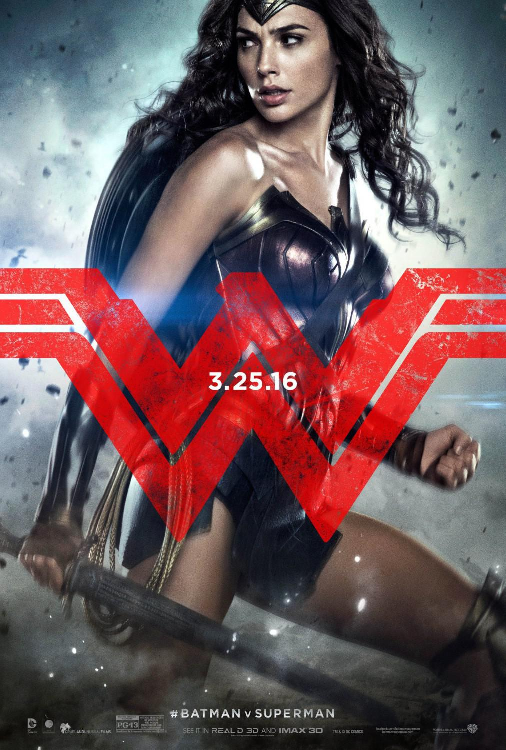 Batman Vs Superman - Dawn of Justice - Wonder Woman