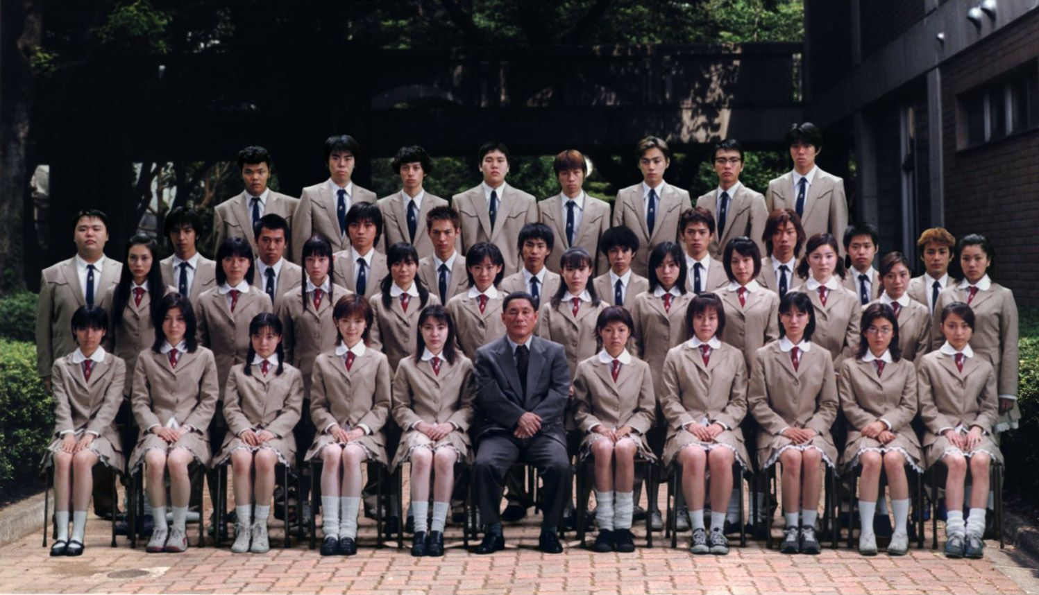 Film live action - Battle Royale - Scholl Class
