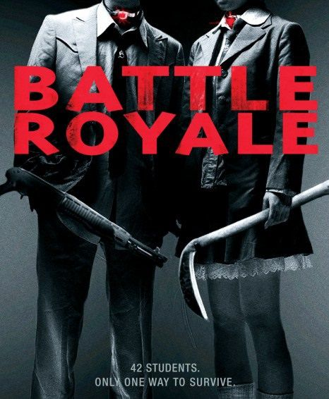 Film poster - Battle Royale - live action