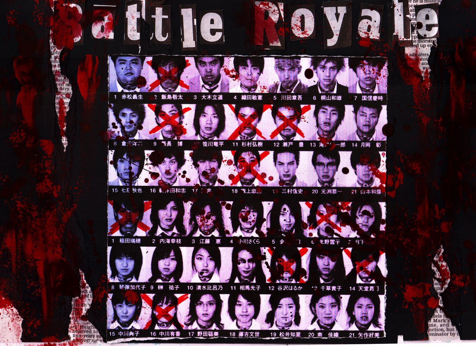 Film live action - Battle Royale