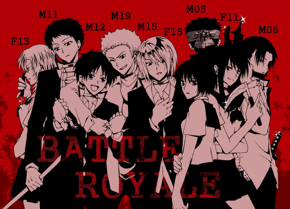 Film live action - Battle Royale - manga