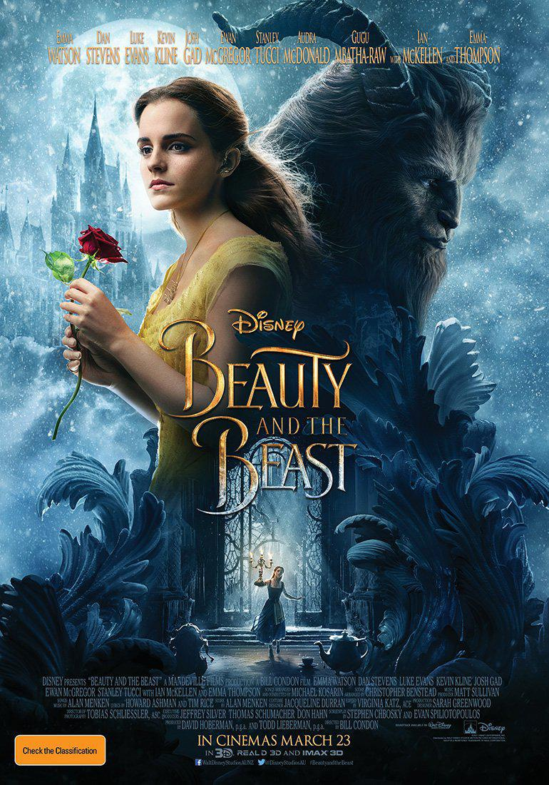 La Bella e la Bestia - Beauty and the Beast - Musical live action Disney - poster