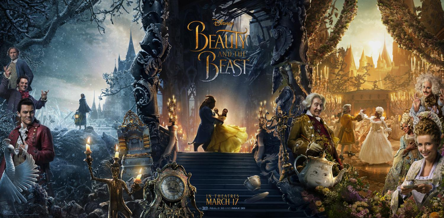 La Bella e la Bestia (Beauty and the Beast) - live action Disney - poster