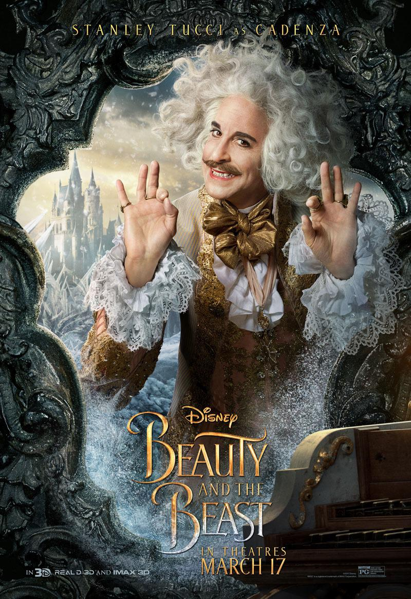La Bella e la Bestia (Beauty and the Beast) - live action Disney - Stanley Tucci - Cadenza