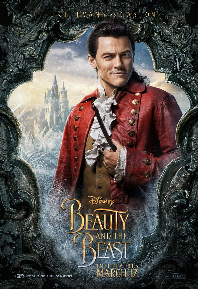 La Bella e la Bestia (Beauty and the Beast) - live action Disney - Luke Evans - Gaston - Gastone