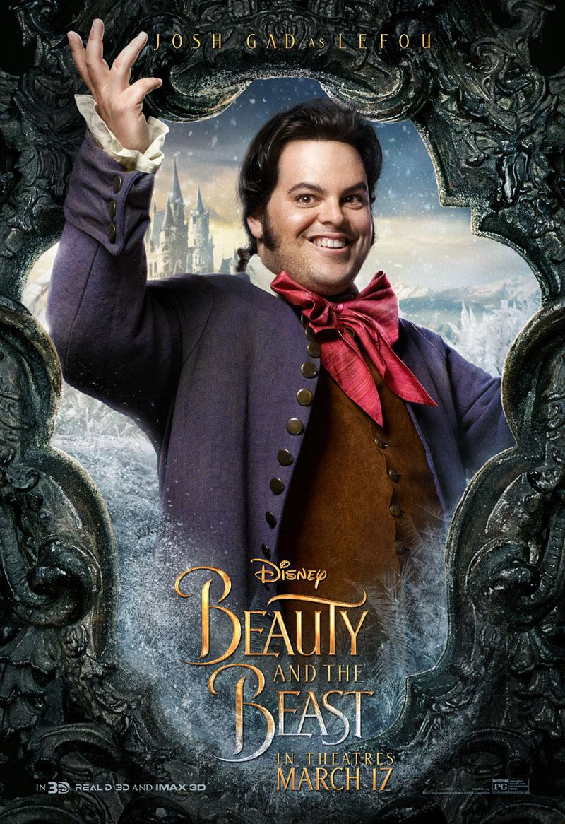La Bella e la Bestia (Beauty and the Beast) - live action Disney - Josh Gad - Lefou