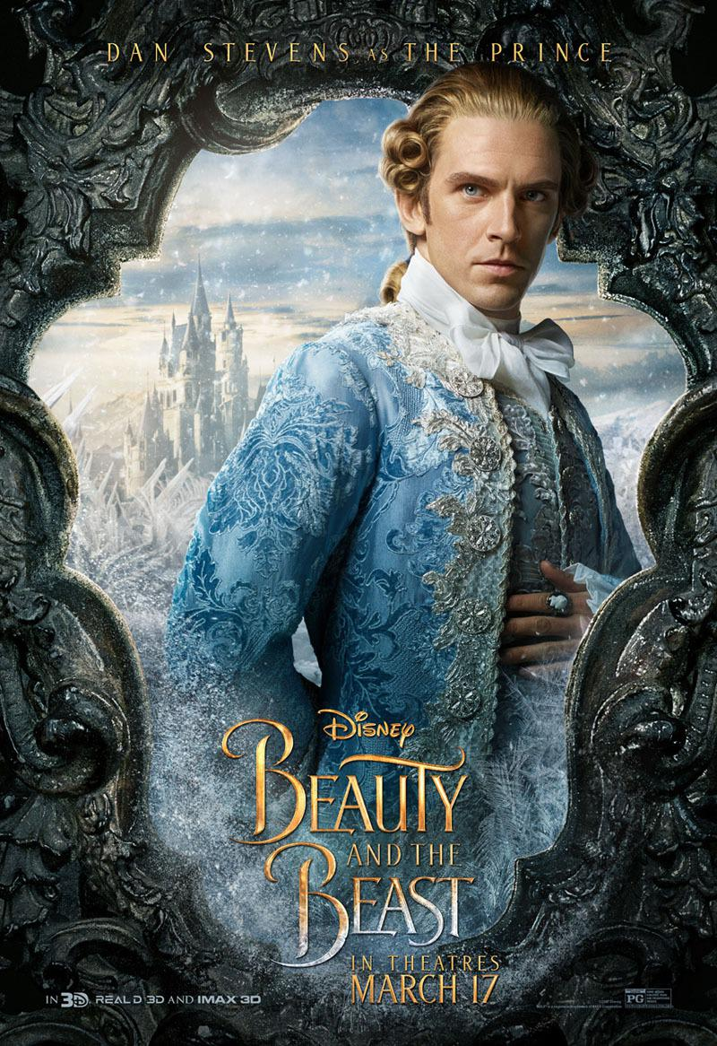 La Bella e la Bestia (Beauty and the Beast) - live action Disney - Dan Stevens - The Prince