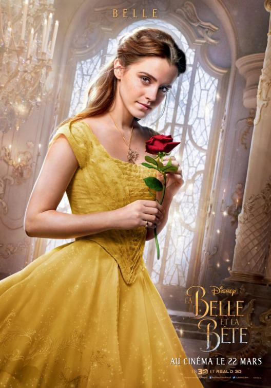 La Bella e la Bestia (Beauty and the Beast) - live action Disney - poster - Emma Watson - Belle