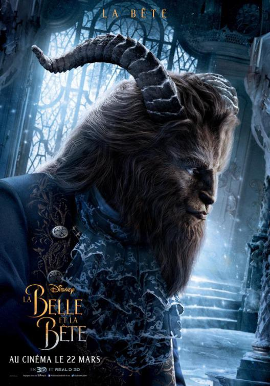 La Bella e la Bestia (Beauty and the Beast) - live action Disney - poster - Dan Stevens - The Beast