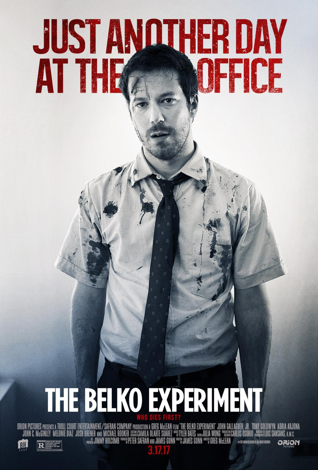 Belko experiment - film poster - Just another day at the office